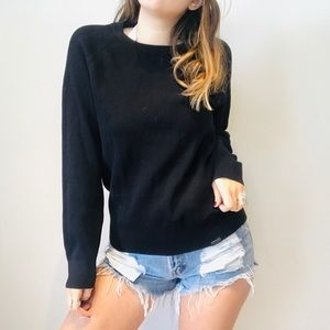 Under Armour black knit sweater